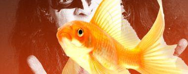 Gene Simmons y la pecera